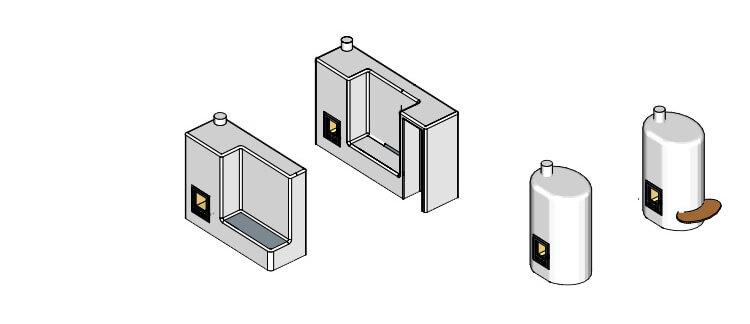 Natuurlijk bouwen - Rocket leemkachel bouwpakket